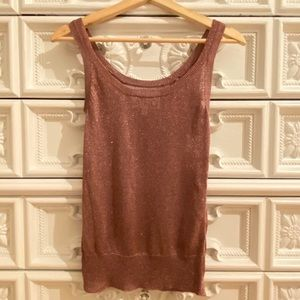 Sparkly Knit Tank Top